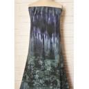 Úplet modrozelený bordura vzor