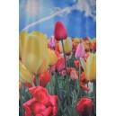 Dekorační látka tulipány