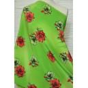 Šatovka zelená s květem