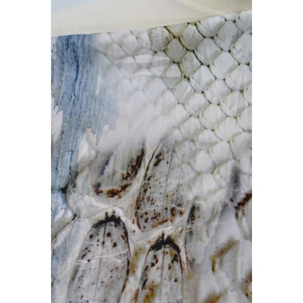 Šatovka hadí vzor - Látky Král - Látky metráž 3356f789855