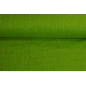 54b766f25f89 Zelená lněná látka - Látky Král - Látky metráž