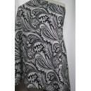 Černobílé paisley vzory