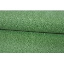 Bavlna skrytý vzor, zelená barva