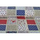 Bavlna patchwork v káru