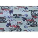 Motorky na bavlně
