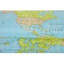 Mapy s modrým podkladem