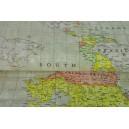 Mapy s béžovým podkladem