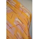 Šatovka oranž. béžový vzor
