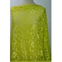 Elastická krajka žlutozelená